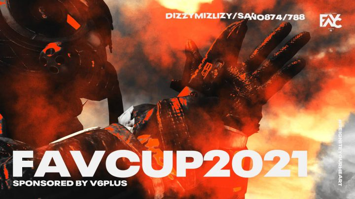 #FAVCUP2021 APEX LEGENDS🥈サムネイル
