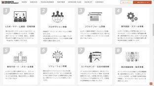 コーポレートサイト公開サムネイル