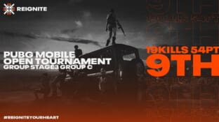 PUBG MOBILE OPEN TOURNAMENT GROUP STAGE3サムネイル